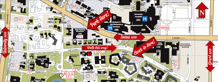 Unm Parking Map Parking During Orientation :: New Student Orientation | The  Unm Parking Map