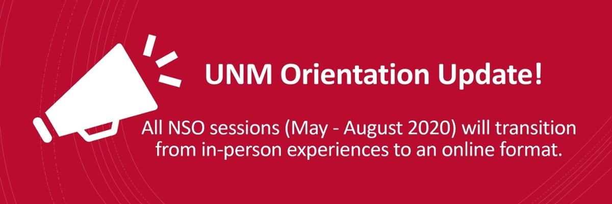 In-person orientations moved to an online format